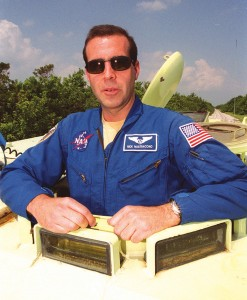 Astronaut Rick Mastracchio flew in September 2000 as a mission specialist on STS-106 Atlantis. He has logged more than 283 hours in space.
