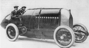 The monstrous Beast of Turin was built by Fiat in 1910 and sported a six-cylinder airship engine.