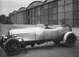 While working for Sopwith after WWI, Harry Hawker, Australian pilot and aircraft designer, used his Sunbeam-Mercedes for fast  transportation. He had to lengthen the Mercedes chassis by 10 inches in order to accommodate the 225hp Sunbeam V-12 aero engine.