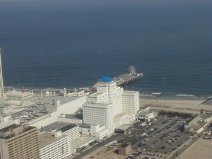 Steel Pier is constantly changing in this resort city. In the past six years, new buildings have arisen around the pier.