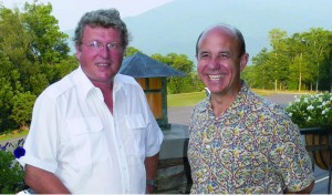 Diamond CEO Christian Dries (left) with Fred Ahles, Premier's president. Premier joined the Diamond team in May 2003.