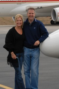 Nancy and Jeff Puckett, college sweethearts, have been married 23 years.