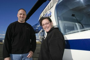 In 2001, Mike and Gina Fyola launched Rotors of the Rockies with one training helicopter. They now use five Schweizer 300C trainers and a Bell JetRanger 206B-3 for charter flights.