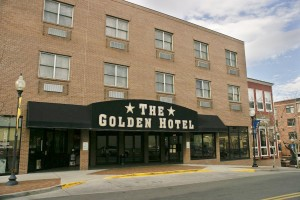 "Rotors of the Rockies and The Fort restaurant have formed a winning partnership with the Golden Hotel. The 6-year-old lodging establishment has created quite a following with its ""Love is in the Air"" flight, dinner and lodging package."