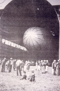 In the early 1930s, Palwaukee Airport functioned as a blimp port.