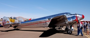 First place in the antique category went to Les Whittlesey's beautifully restored 1939 Lockheed 12A Electra Junior, based in Chino, Calif.