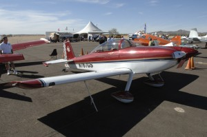 The Grand Champion winner was Glenn Smith's RV-8, which also won first place in the custom built metal category.