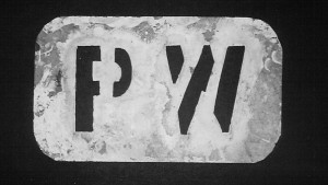 "This stencil was used to paint ""PW,"" for Prisoner of War, onto prisoner clothing at Fort Meade. The stencil is now on display at Old Fort Meade Museum."