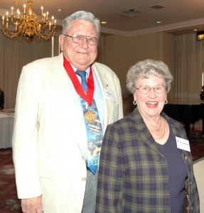 Ed Mehlin (left) attended the event with longtime friend Steve (Wilma) Terrell.