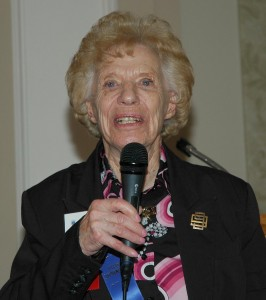 The Colorado Aviation Historical Society recognized Jane Nettleblad, one of the founding members of the Colorado Chapter of the Ninety-Nines.