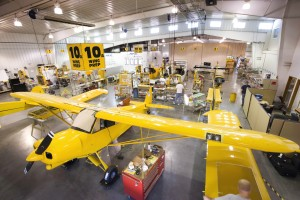 CubCrafters' factory is turning out a Sport Cub a week, to meet growing demand for the plane. Prices start around $100,000, plus options.