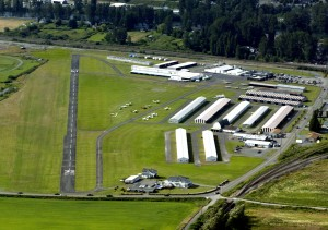 Citizens in Snohomish, Wash., are protesting the 20-year master plan being developed for Harvey Field. It would include moving the runway 300 feet south to resolve noise issues and the addition of new hangars to the west.