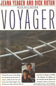 """Voyager"" tells the story of Dick Rutan and Jeana Yeager's quest to fly nonstop and un-fueled flight around the world, in an aircraft designed by Burt Rutan."