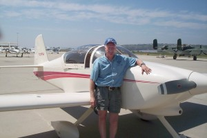 Norm Hall was the pilot in command, flying from the right seat in this award-winning RV-6A.