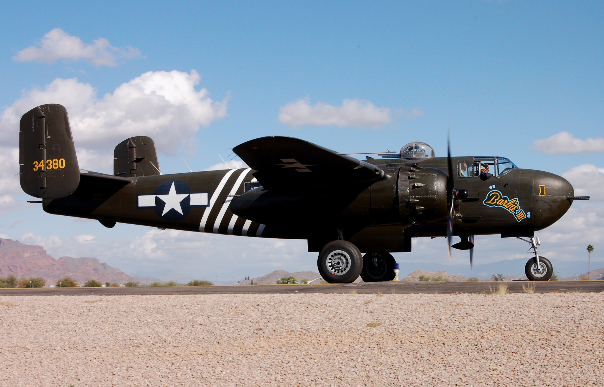 A Rare B-25H and an Aeronautical Themed Restaurant Fly in Perfect Harmony