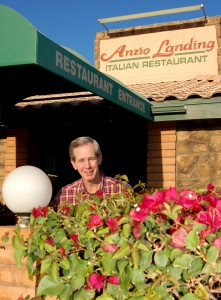 Rich Cutshall is the owner of Anzio Landing, an aeronautically themed Italian restaurant located at Falcon Field in Mesa, Ariz.
