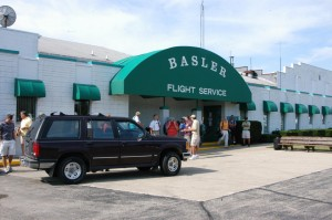 Basler Flight Service becomes a very busy place during EAA AirVenture Oshkosh. While hundreds of people pass through everyday, the staff is always friendly and accommodating.