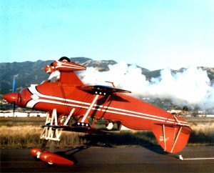 In his Pitts S-2, Double Take, Craig Hosking learned to take off, perform a full aerobatic routine, and then land, all while inverted.