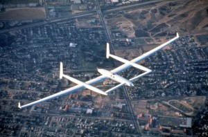 Dick Rutan took Voyager for her maiden flight on June 22, 1984.