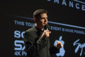 "Brian J. Terwilliger, director and producer of ""One Six Right,"" told the audience that it was exciting to have the final screening of the nationwide tour at the airport where it all started."