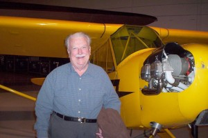 Al Lewis, former WWII B-17 Flying Fortress pilot, recalled flying a classic Piper Cub like this one shown various times in the movie.