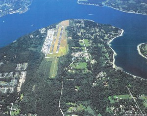 Tacoma Narrows Airport may soon be privately owned. Negotiations are underway after purchase talks with Pierce County failed.