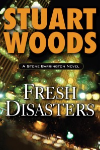 "Readers can look forward to buying ""Fresh Disasters"" in April, which pits Stone Barrington against the New York mafia."