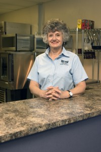 Donna Pederson has been the primary force behind the snack bar for the last two years.