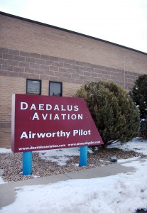 Daedalus Aviation, located at Front Range Airport, boasts 5,000 square feet of teaching space.