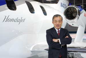 Takeo Fukui, Honda Motor Company president and CEO, announced the sale of HondaJet at the NBAA convention in Orlando, Fla. Honda set the price for the advanced light jet at $3.65 million, and plans delivery in 2010.