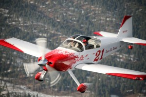 Carl Brownd's RV-6, the Super Six Rocket, is a rare taildragger with side-by-side seating.