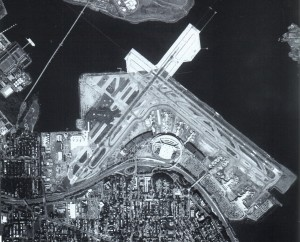 In the early 1980s, a runway extension was built into Flushing Bay, to accommodate jet traffic at LaGuardia. The 1990s brought two new passenger terminals.