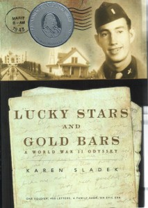 "Lucky Stars and Gold Bars"" is one man's personal experiences during World War II. The book is based on a collection of letters written over a period of three and a half years by Lt. Lyle Sladek."