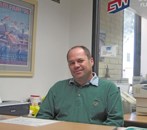 Gary Lewin oversees Southwest Flight Center's flight operations and maintenance.