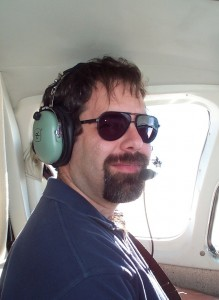 Stephen Brandli pilots an Angel Flight mission.