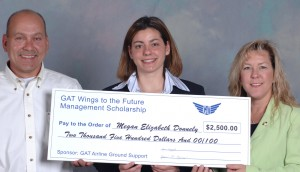 GAT Airline Ground Support is one of many companies that sponsor WAI scholarships.