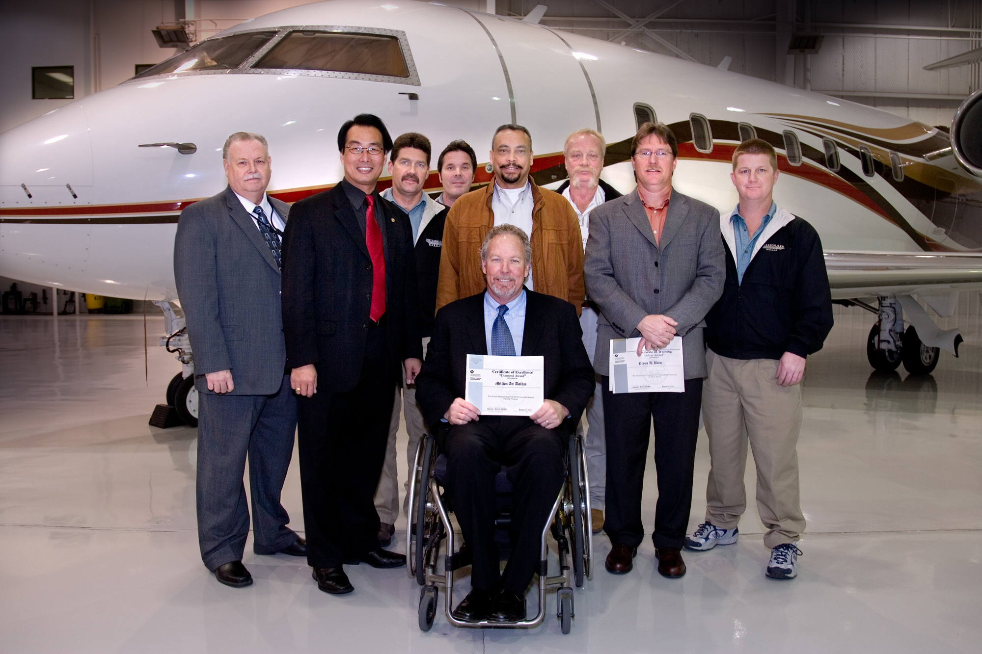 Million Air Dallas Receives Prestigious FAA Diamond Award