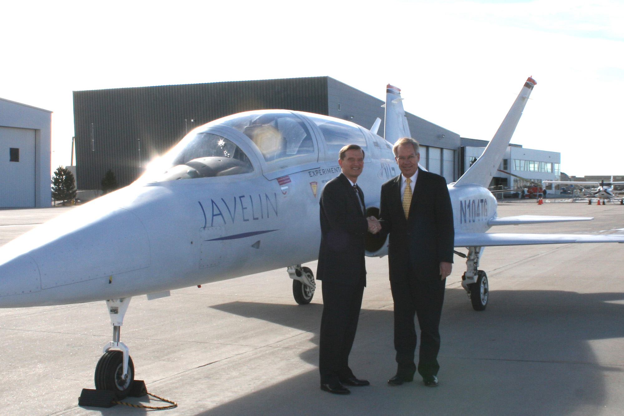 Senator Wayne Allard Visits ATG