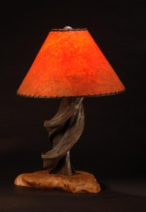 "Erik Lindbergh's ""Twisted Bronze Lamp"" has been cast in a limited edition of 25 signed copies."