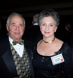 Bill and Valerie Anders were honored guests at the 2007 Living Legends of Aviation award ceremony.