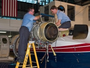 Landmark Aviation is a leader in business aircraft repair, maintenance and overhaul. It's the largest supplier of repaired and overhauled TFE731 engines.
