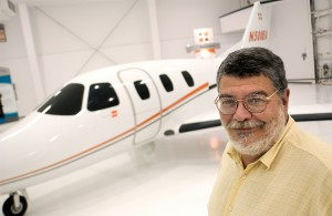 Ed Iacobucci, cofounder, president and CEO of DayJet Corp., says his company's per-seat, on-demand private jet service will eventually use a fleet of 239 Eclipse 500 very light jets. DayJet's airline-like booking system is in the final testing stage.