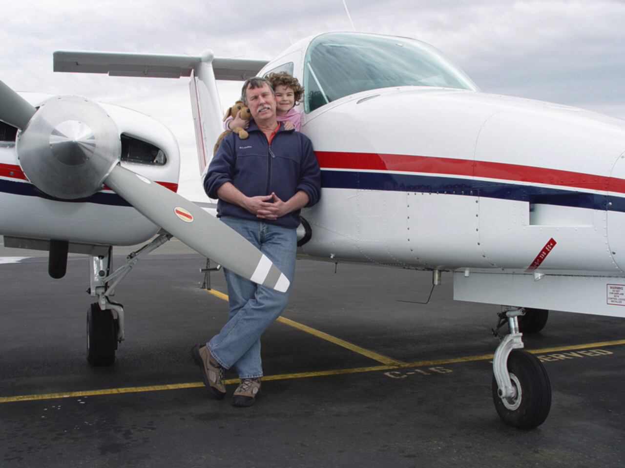 Daughter's Survival Spurs Flight Instructor's Crusade to Cure Childhood Cancers