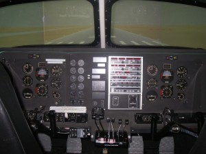 The ELITE King Air 200 flight simulator handles just like the actual airplane.