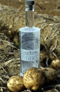 Cold River Vodka is the Thibodeau family's latest venture. Produced exclusively by Maine Distilleries, the premium spirit is made from Green Thumb Farms potatoes.