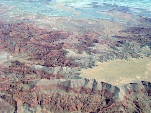 Fantastic formations line our route over northern Arizona.