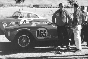 A 125-hp Fiat V-8 with five-speed transmission powered Ernie McAfee's Siata 8V Sport in the 1953 race.