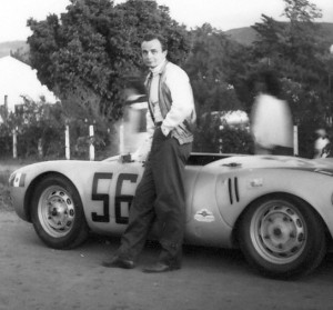 Privateer Jaraslov Juhan's Porsche 550 had a four-cam engine.