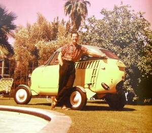 Actor Bob Cummings, who bought one of the early Aerocars, loved to drive and fly it so much that he had it written into several of the scripts for his television show in the 1950s.