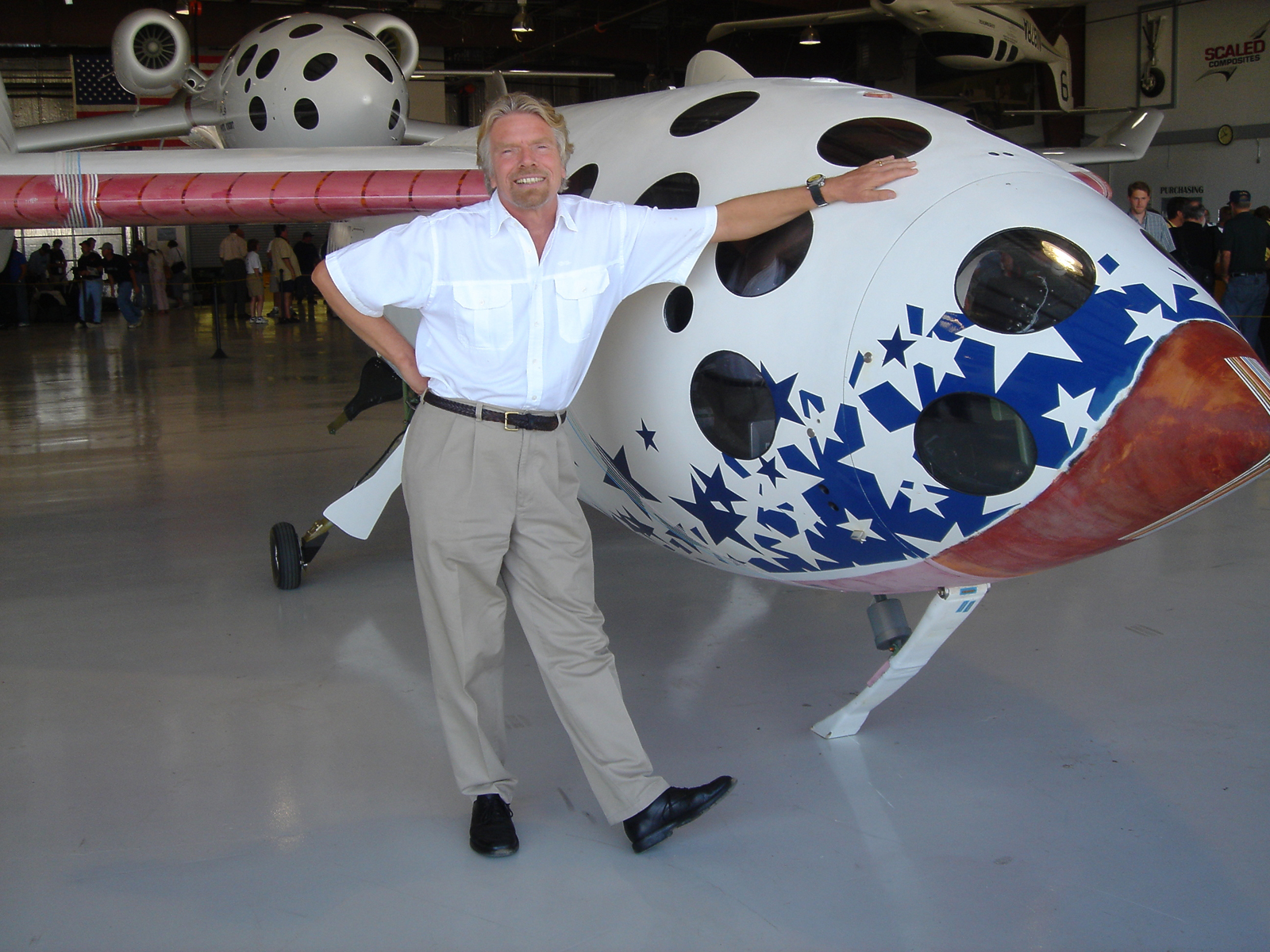 Richard Branson's Virgin Galactic Space Tourism Accepting Reservations